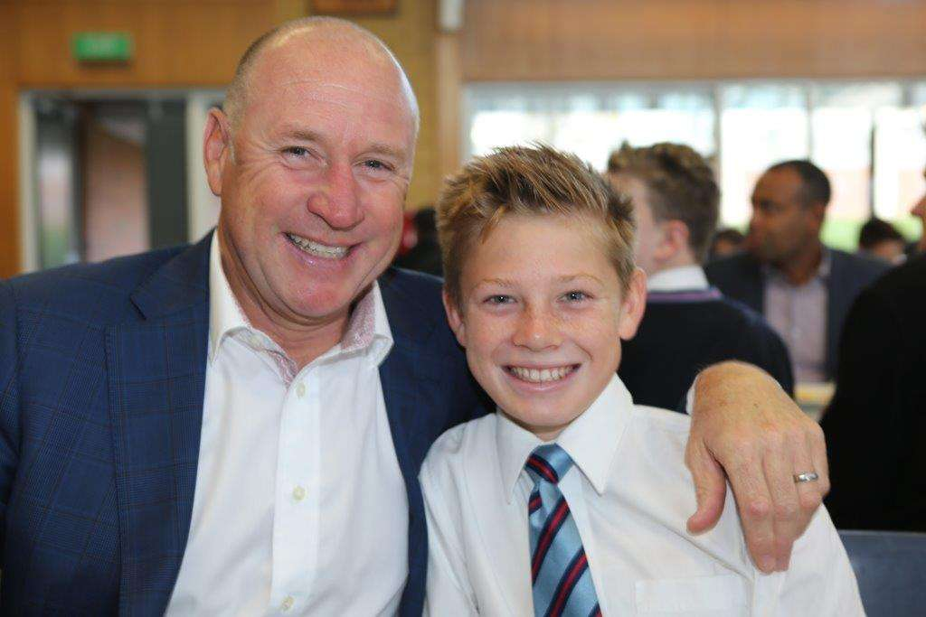 Year 7 Father and Son Mass and Breakfast