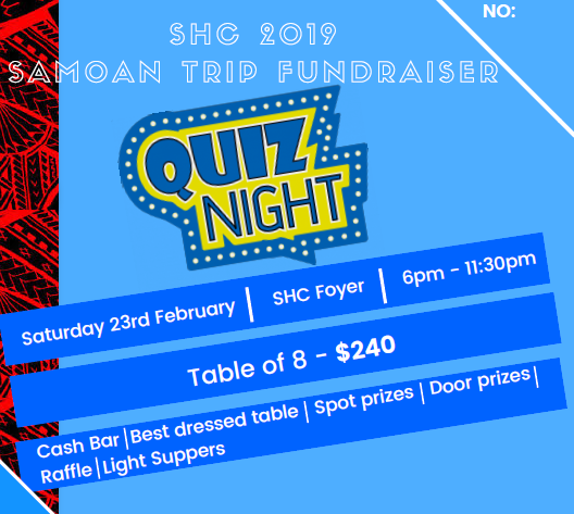 Samoan Quiz Night