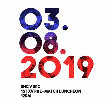 1st XV Pre-match luncheon (SHC vs SPC)